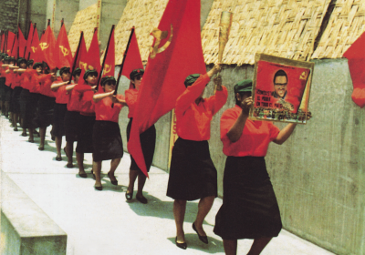 PKP kvinner marsjerer