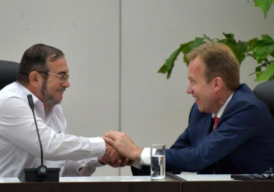 Farc-fredsforhandlinger