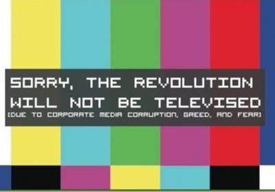Revolusjonen blir ikke TV-sendt