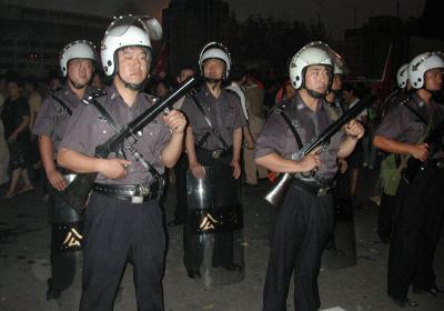 kina-riot-politi