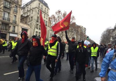 Gule vester og kommunister