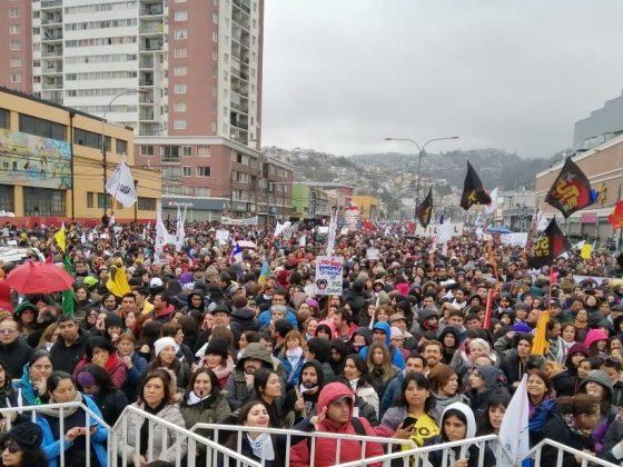 Bilde fra Valparaíso, Chile