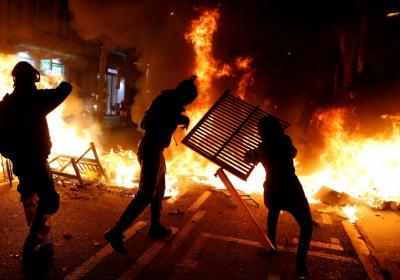 Katalonien_Riots_nach_Urteilsverkündung