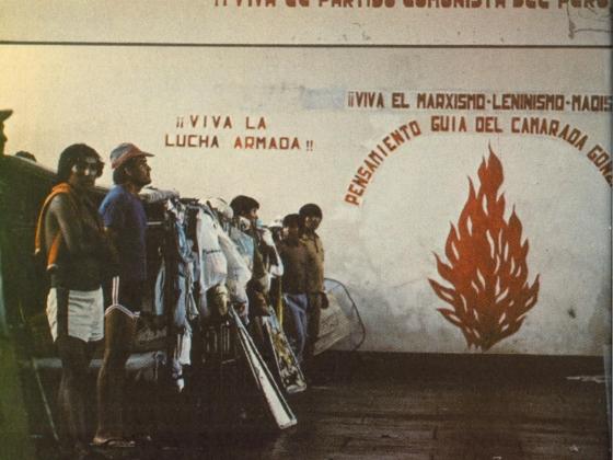 Krigsfanger i El Fronton ca 1983